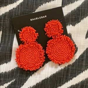 NWT Baublebar RIANNE DROP EARRINGS-CORAL